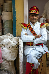 Leader of the Band.  Jodhpur, India.
