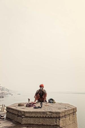The Snake Charmer (Varanasi, India)