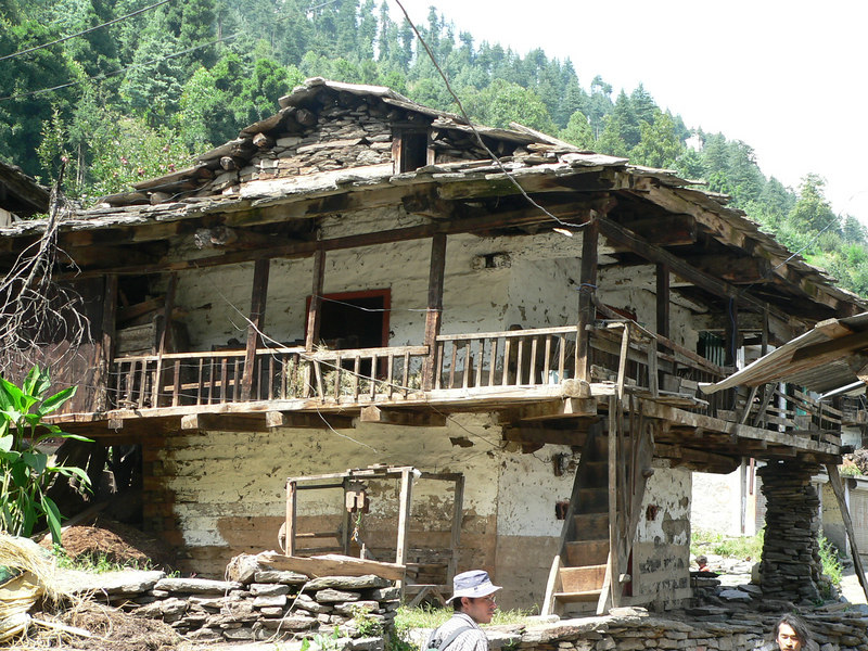 House of sticks and stones (Old Manali)