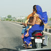 to Agra