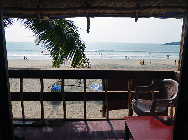 View from Balcony (Goa)