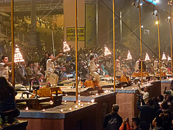 Evening Puja in Varanasi