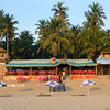 Restaurant & Huts on Palolem Beach (Goa)