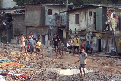 Cricket in the slum