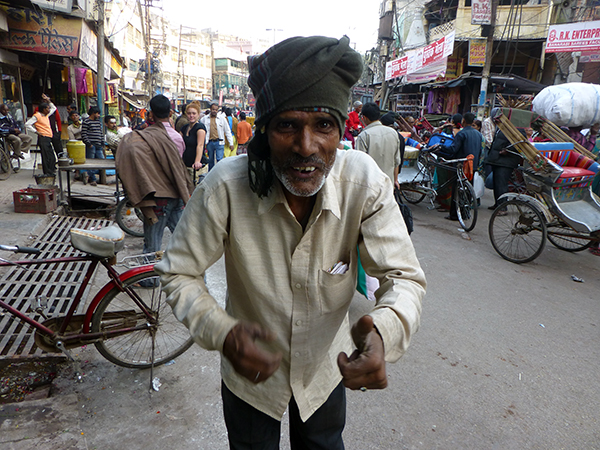 Man on the Street (Varanasi)