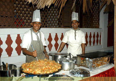 Chefs at Goa during Arts Festival