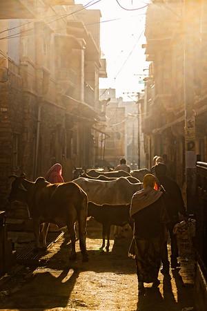 As the city awakens (Jaisalmer, India)