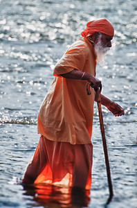 The Old Man and the River Ganges
