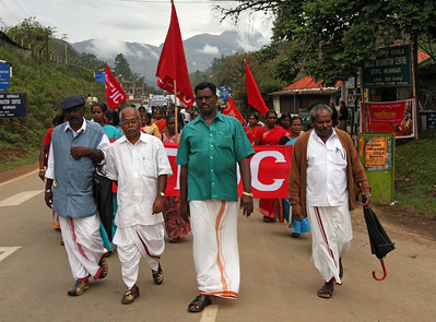 Communist Protest, Kerala