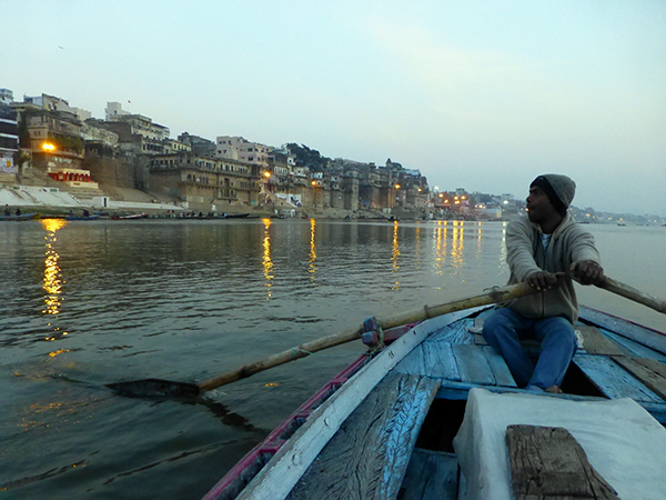 Sunrise Boat Ride on the Ganges