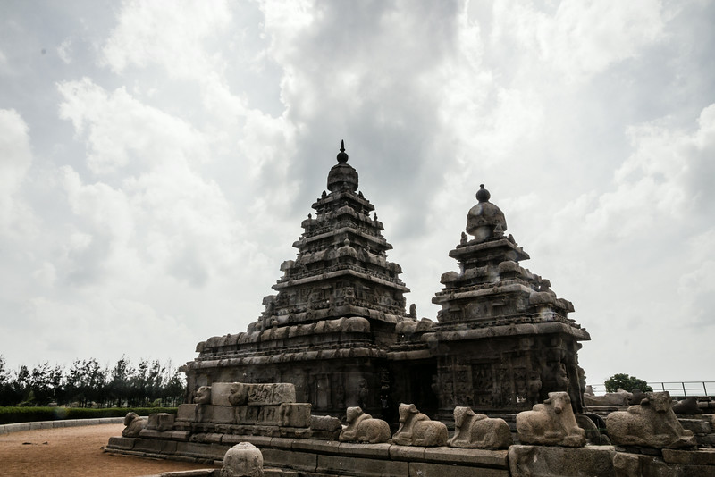 Shore Temple in Mahabalipuram India