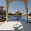 One of the pools at Oberoi Udaipur