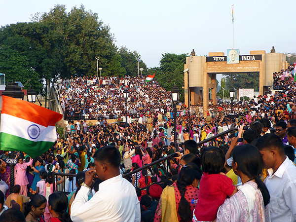 Border Ceremony, Wagah, India (2)