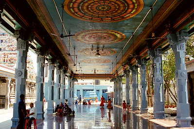 Temple in Chennai, India 2006