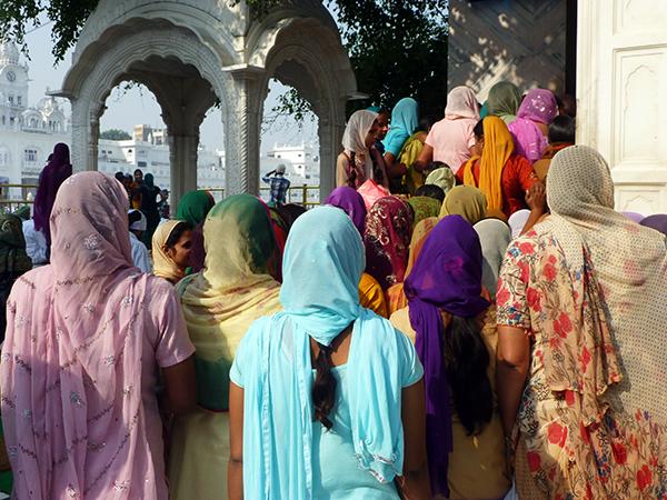 Women at Golden Temple