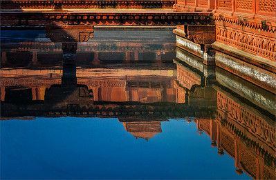 Red Fort Reflection