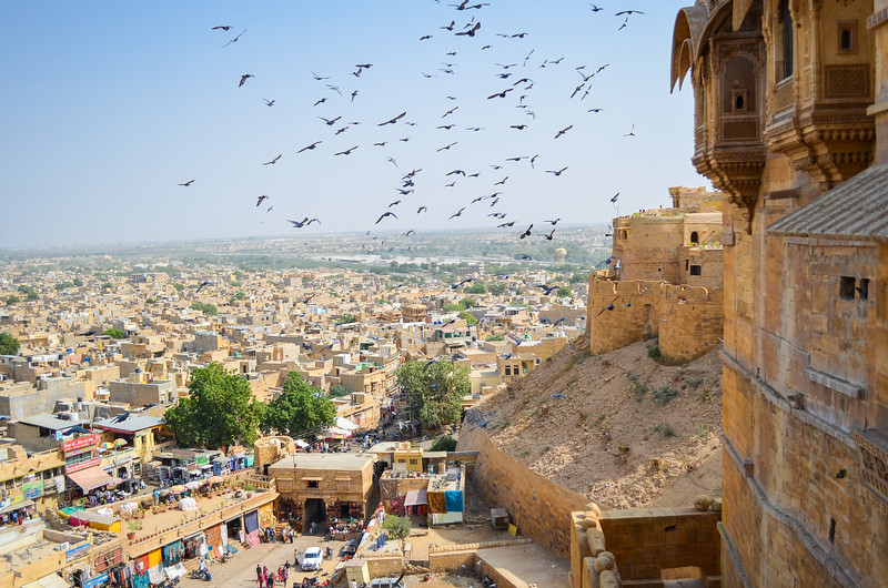 View from Jaisalmer Fort
