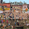 Praying by the Ganges