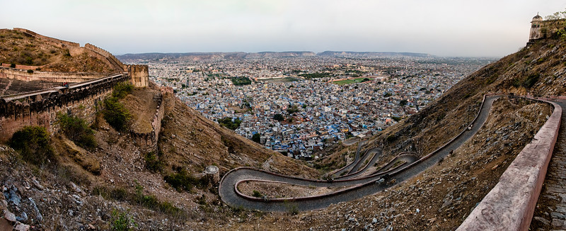 Winding Path to Jaipur