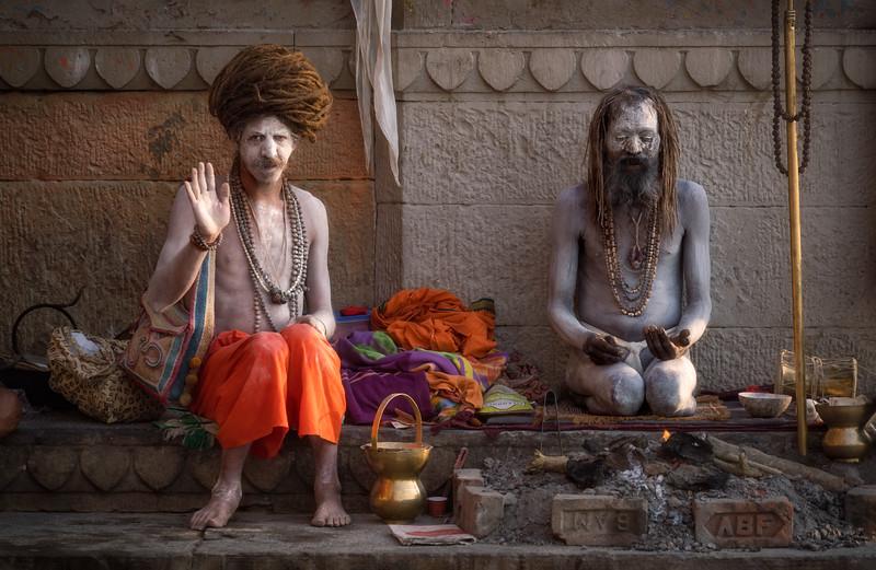 The Sadhu's Blessing