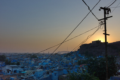 The Blue City.  Jodhpur, India.