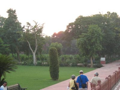 The eastern gardens.