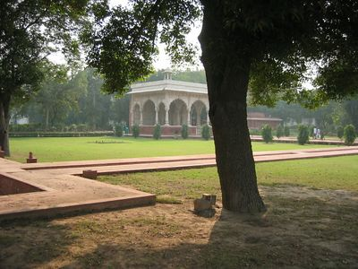 Red Fort grounds