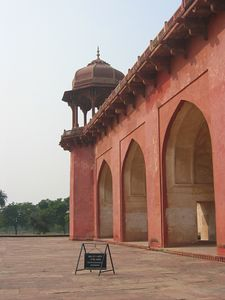 Akbar's Tomb in Sikandara