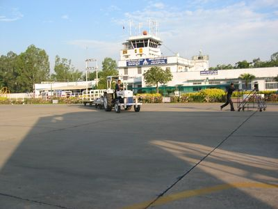 Airport in Udaipur