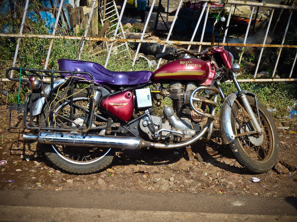 Royal Enfield. Did not see many on the streets.