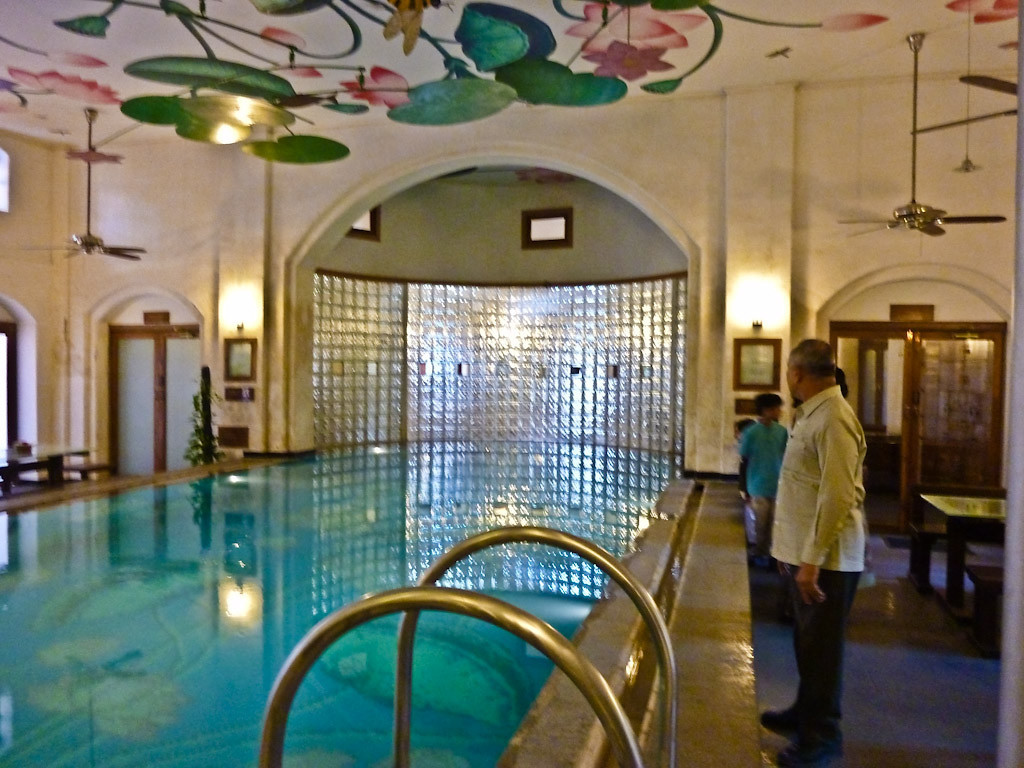 mangaldas haveli swimming pool.
