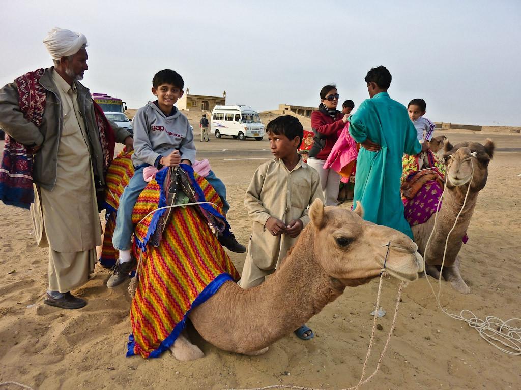 Sam desert. 40km past Jaisalmer. Pakistan border 100km beyond this point.