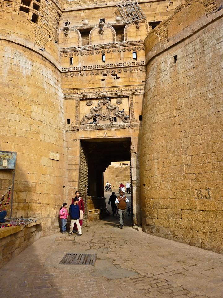 Enterence to Sonar Kella (The Golden Fortress), Jaisalmer