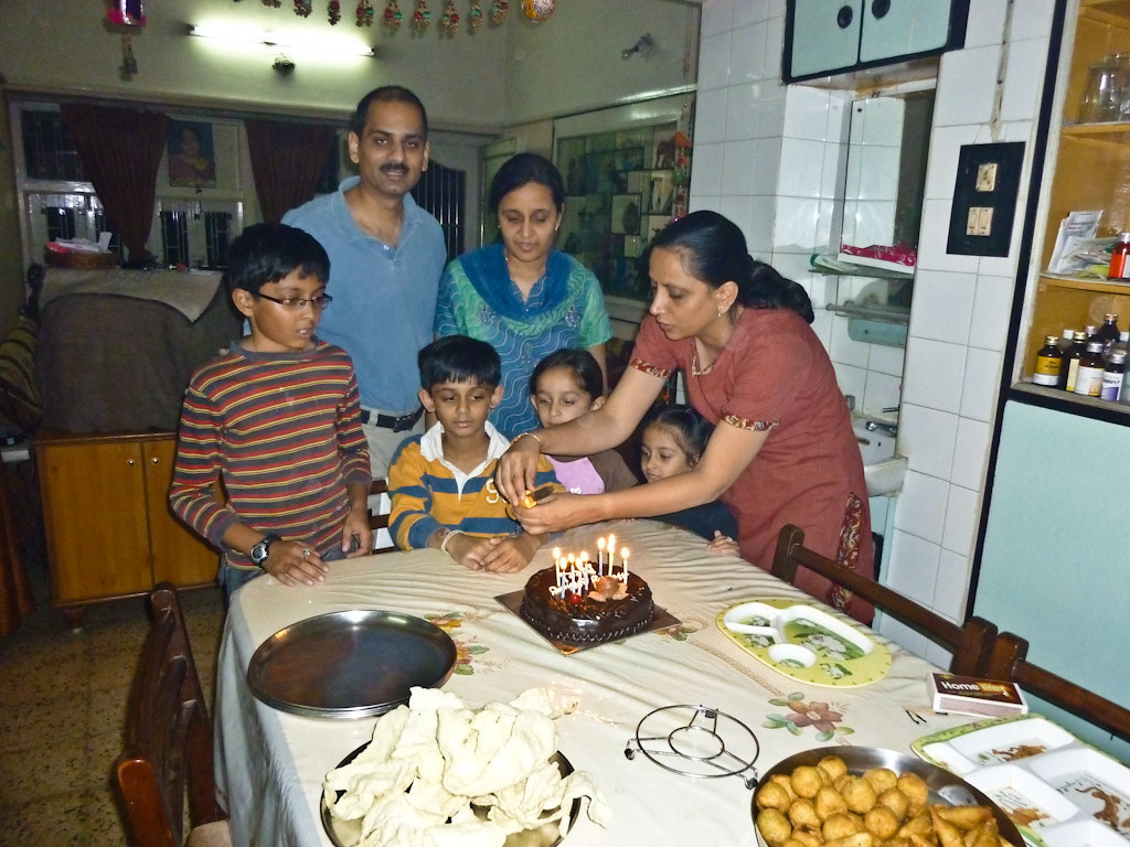 Neel's 9th birthday celebrated where Apurva-Shivanibhabhi's live.