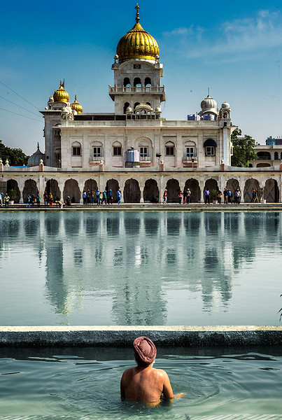 Sikh temple, Delhi.