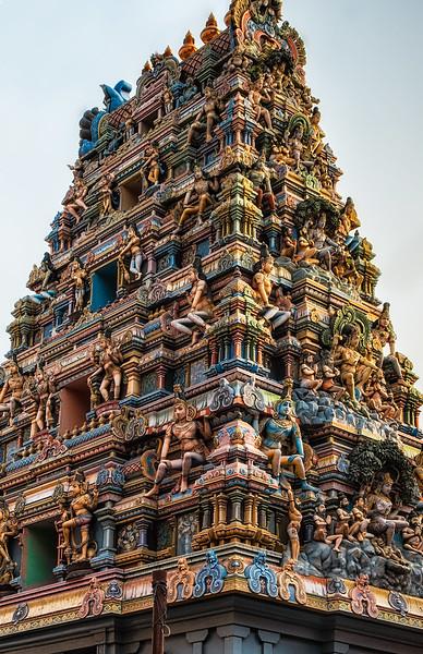 South Indian temple in Varanasi.