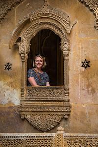 Mallory in Jaisalmer