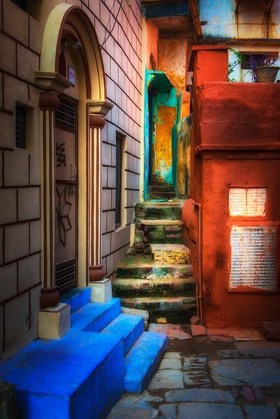 Passageway, Varanasi, old city