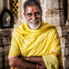 A friendly Jain priest in the temple in Ranakpur. Complimented my beard, and then gave me the 'opportunity' to donate some rupees to the temple. Spoke excellent english.