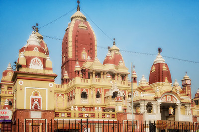 The Birla temple in New Delhi. Dedicated to Vishnu.