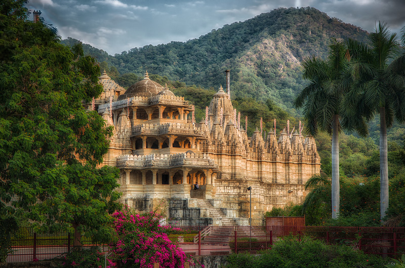 The main temple in Ranakpur. A still active Jain temple complex between Jodhpur and Udaipur.