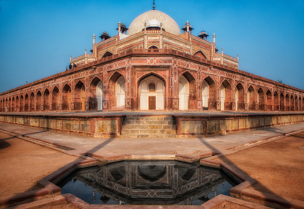 Humayun's tomb in New Delhi, a Mughal emperor who died in 1556.