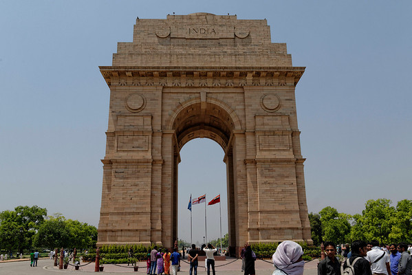 India Gate, India's national war memorial. I was lucky enough to visit it on ANZAC Day, Australia's national war memorial day. It meant more to me than most of the tourists that day.