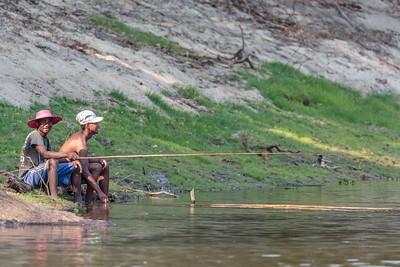 Fishing, Ankarafantsika National Park, Madagascar
