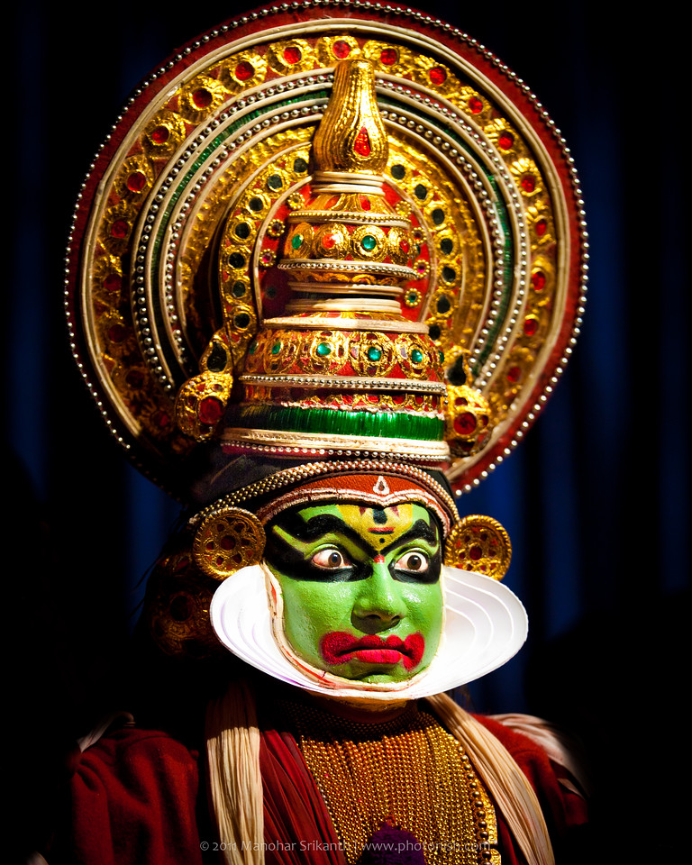 Kathakali Artist. Kerala, India - 2011.