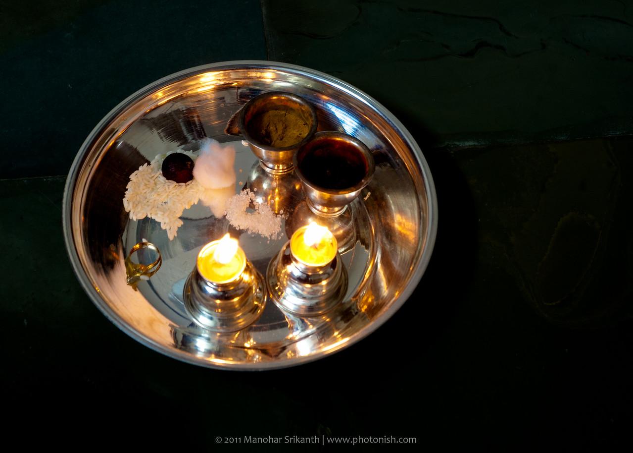 Puje on Deepawali Day 1