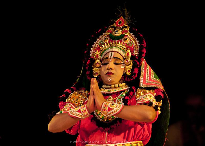 Yakshagaana artist