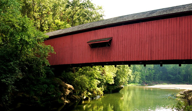Narrow's Covered Bridge, Turkey Run State Park