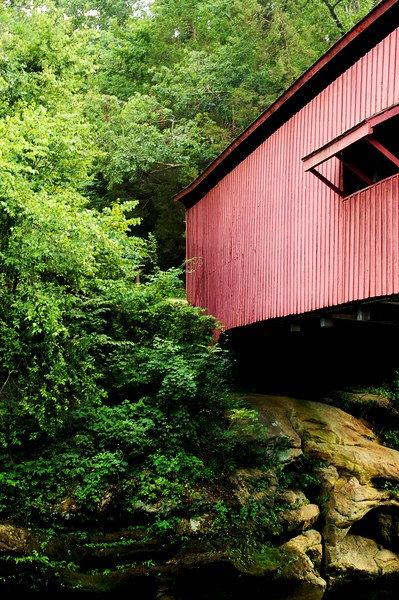Narrows Covered Bridge, Turkey Run, Indiana