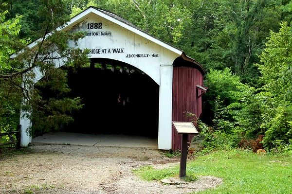 Narrows Covered Bridge, Turkey Run, In.